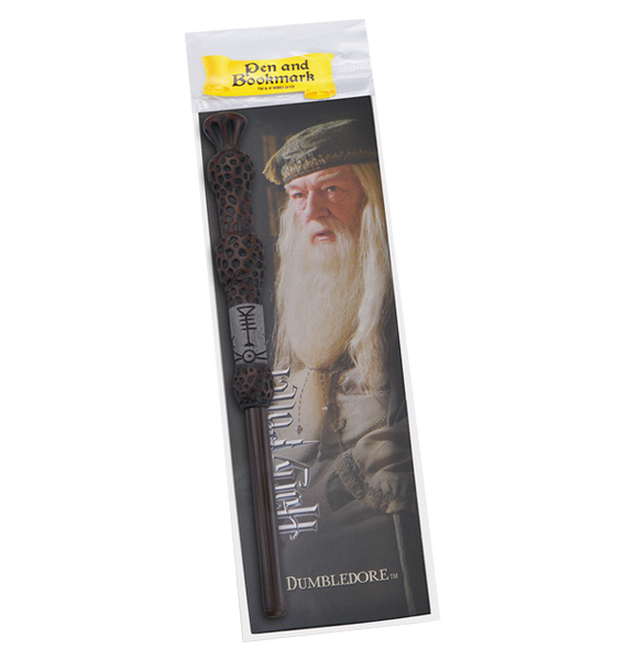 Albus Dumbledore Wand Pen and Bookmark