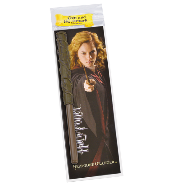 Hermione Granger Wand Pen and Bookmark