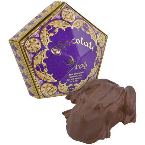 Chocolate Frog - with authentic film packaging