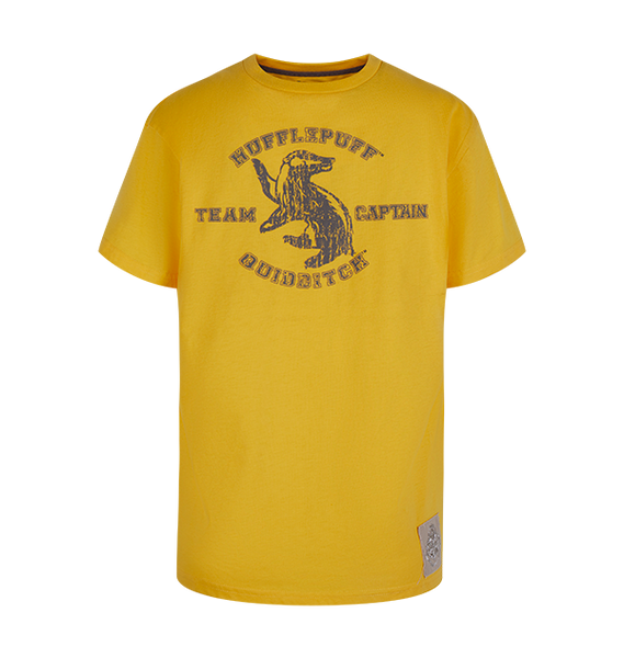 Kids Hufflepuff Quidditch Team Captain T-Shirt