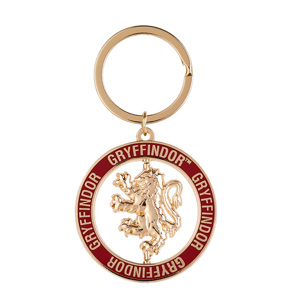 Gryffindor House Icon Spinning Keyring