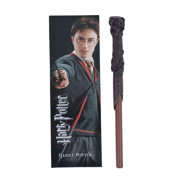 Harry Potter Wand Pen and Bookmark Set