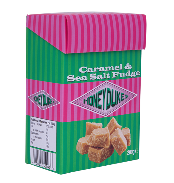 Honeydukes Caramel Sea Salt Fudge