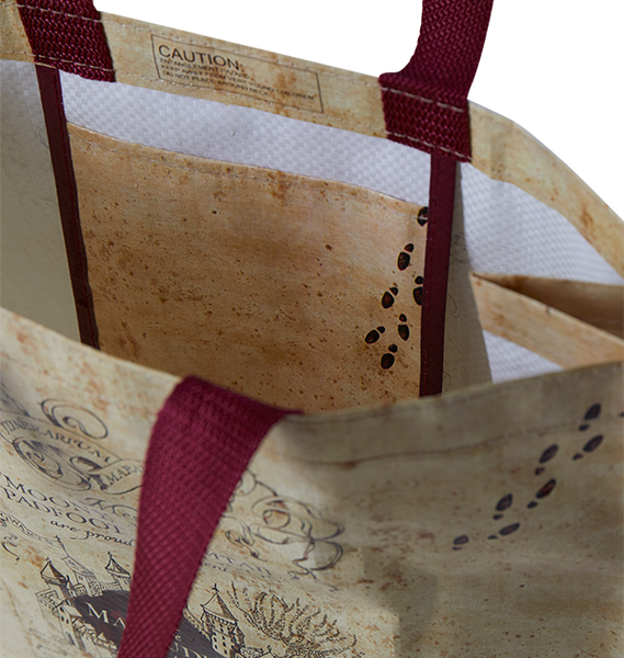 Marauders Map Shopper Bag
