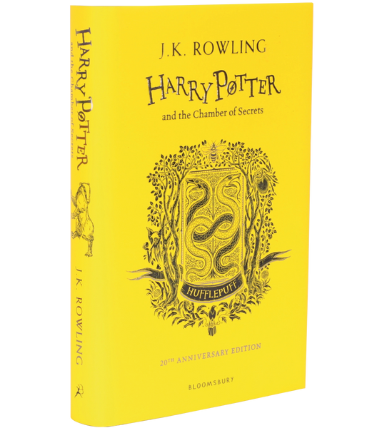 Harry Potter and the Chamber of Secrets 20th Anniversary Hufflepuff Edition (Hardback)