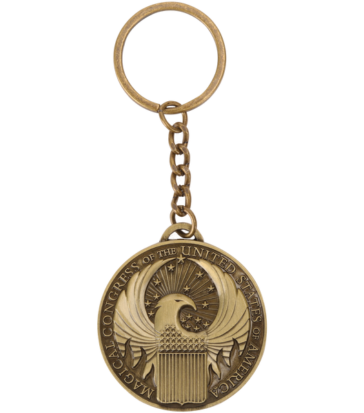 Fantastic Beasts Magical Congress Keyring