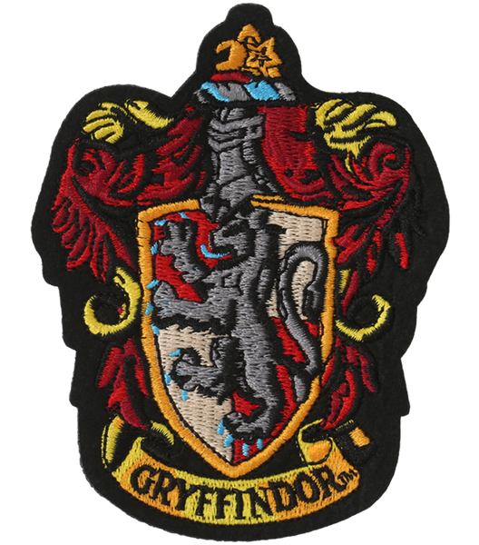 Gryffindor Embroidered Crest Patch