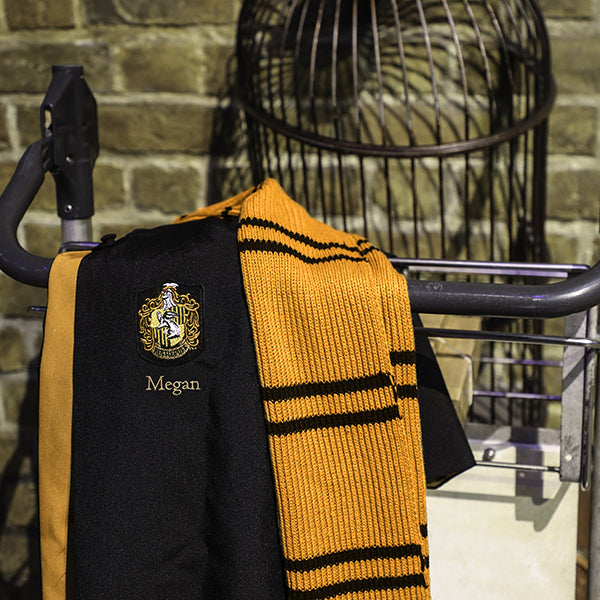 Kids Personalised Authentic Hufflepuff Robe