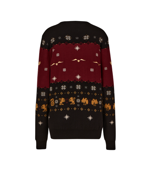 Hogwarts Knitted Christmas Jumper