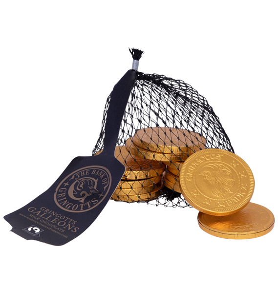 Bag of Gringotts Galleons Chocolate Coins