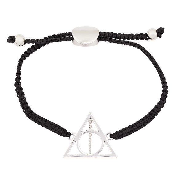 Deathly Hallows Cord Bracelet