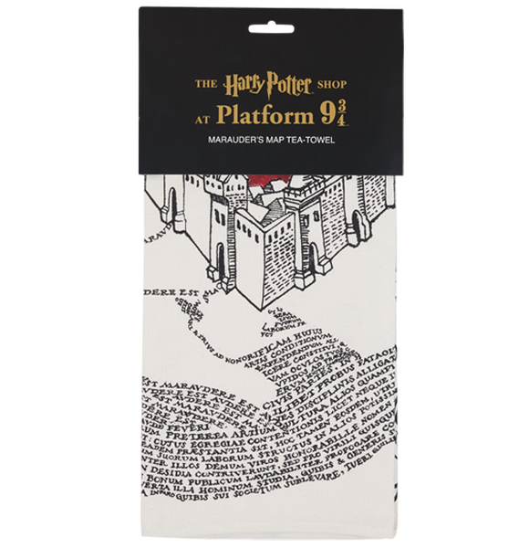 The Marauder's Map Tea-Towel