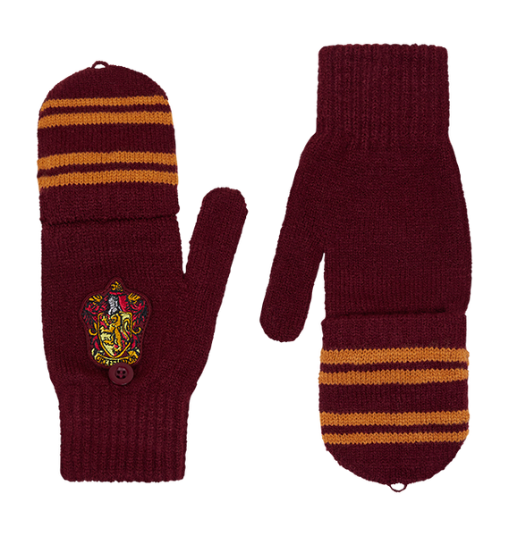 Gryffindor Knitted Mitten Capped Gloves