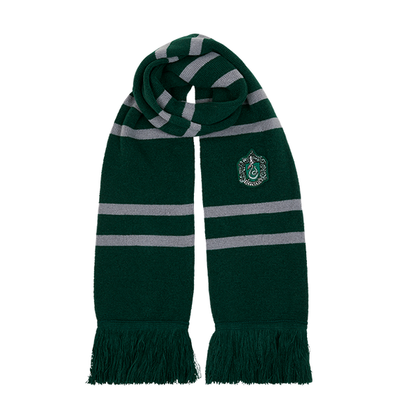 Slytherin Knitted Crest Scarf