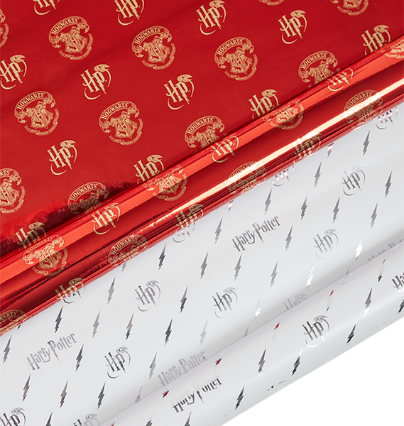 Harry Potter Lightning Bolt Wrapping Paper