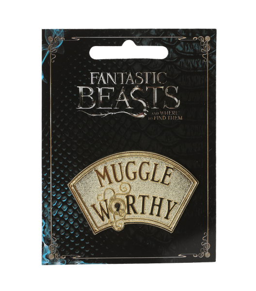 Muggle Worthy Pin Badge