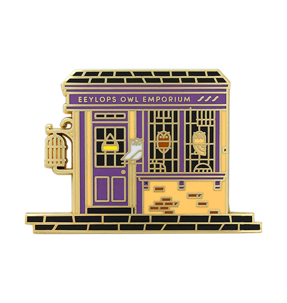 Shops of The Wizarding World Pin Set