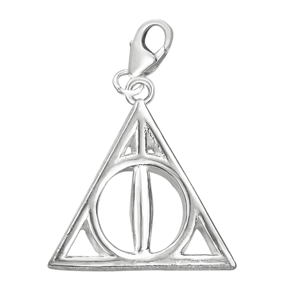 Deathly Hallows Sterling Silver Charm