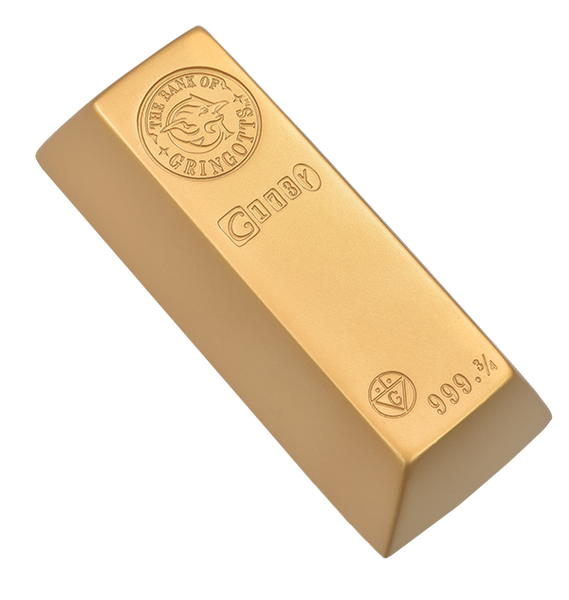 Gringotts Gold Bar Replica