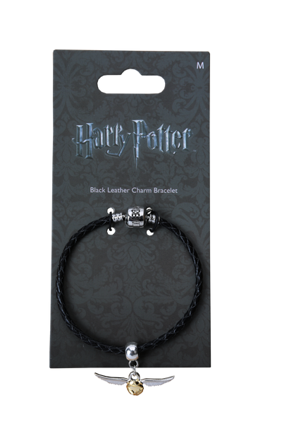 The Golden Snitch Slider Charm and Bracelet
