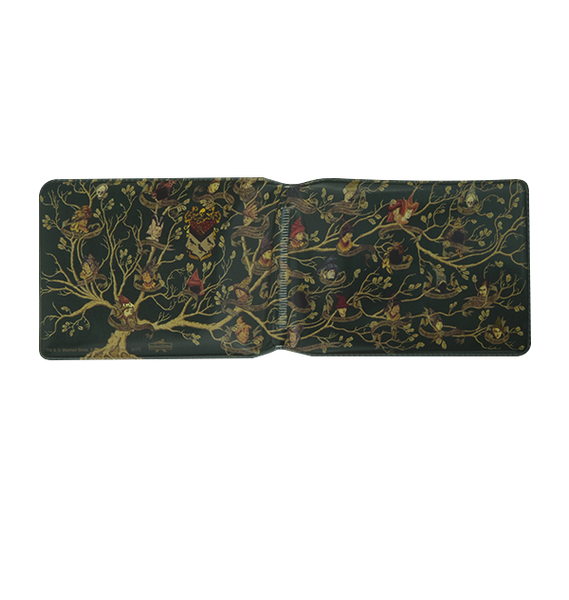 Black Family Tapestry Travel Card Holder
