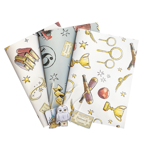 Harry Potter Wrapping Paper Set