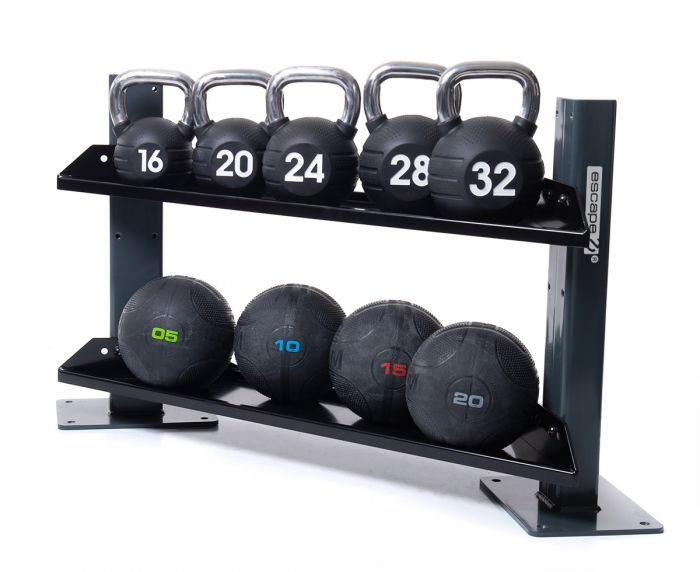 Octagon Corner Storage, Exercise & Fitness by The Iron Den