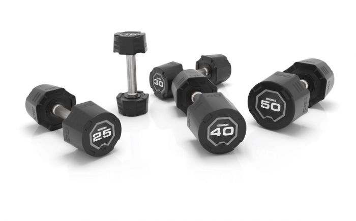 Nucleus Urethane Dumbbells Pair, Exercise & Fitness by The Iron Den