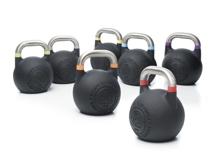Competition Pro Kettlebells 2.0, Exercise & Fitness by The Iron Den