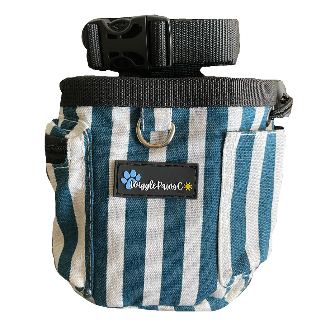 Nala Blue Stripes - Everyday Treat Pouch