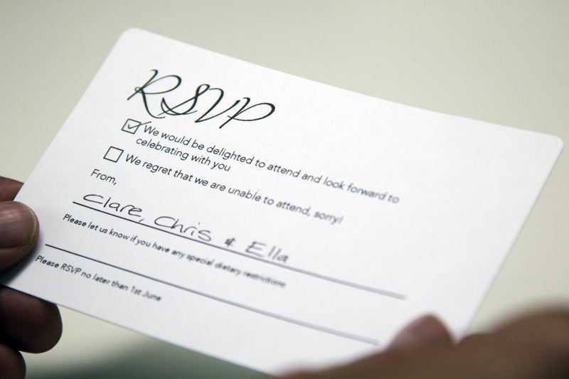 What Wording To Include On A Wedding RSVP- Promaxx