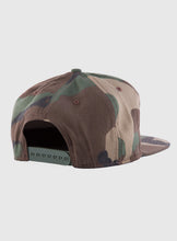 Load image into Gallery viewer, Camouflage snap back cap (customize your design)