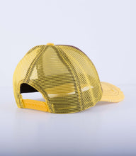 Load image into Gallery viewer, Yellow mesh cap (customize your design)