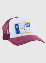 Load image into Gallery viewer, Lebanon maroon mesh cap
