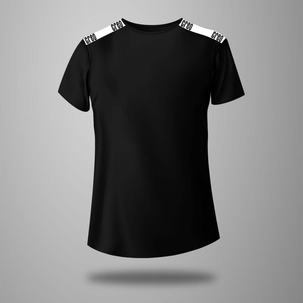 Men strap t-shirt long tee