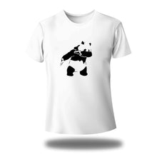 Load image into Gallery viewer, Panda face cover Round Neck