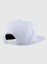 Load image into Gallery viewer, White snap back cap (customize your design)