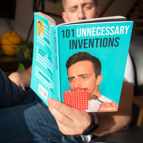 101 Unnecessary Inventions - The Book by Unnecessary Inventions