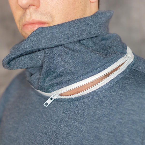 Turtle-Zipper-Neck - Unnecessary Inventions