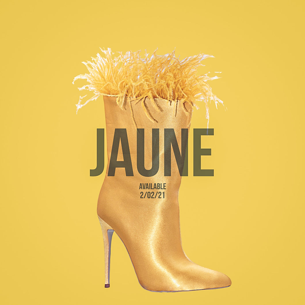 JAUNE' (YELLOW) BOOTIE