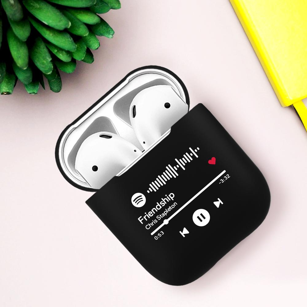Custom Spotify Code Airpods Case Bluetooth Earphone Protective Case For Pet Lovers