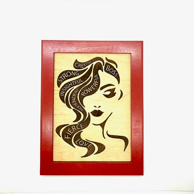 Empowered Woman wall hanging