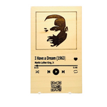 "Load image into Gallery viewer, Martin Luther King Jr. ""I Have A Dream,"" Plaque with QR code"