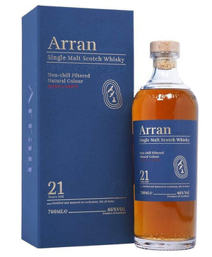 Arran 21 year old single malt Scotch Whisky