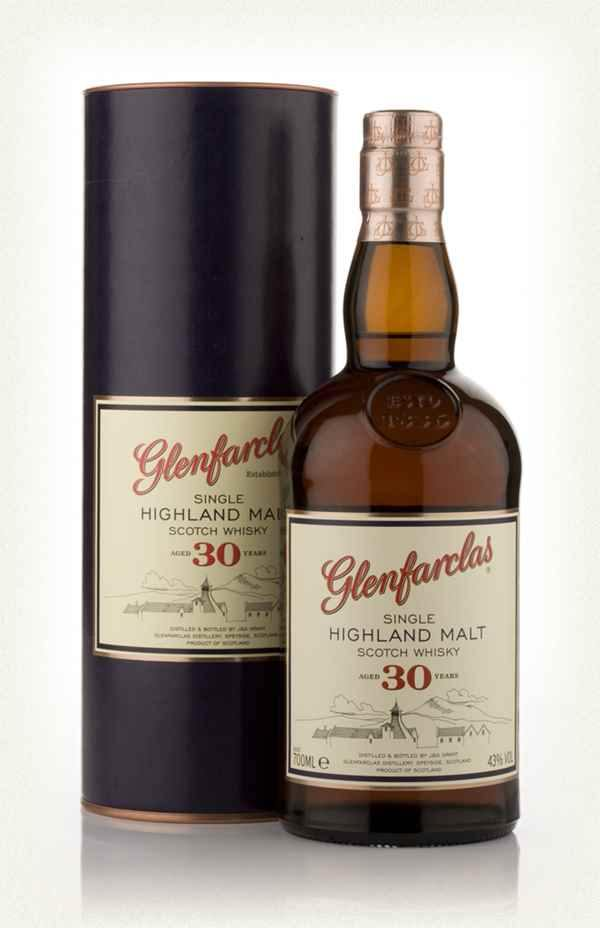 Glenfarclas 30 year old scotch whisky