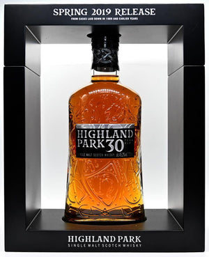 Highland Park 30 year old Scotch Whisky 2019 Release
