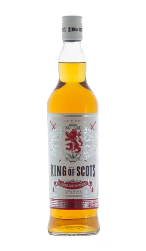 King of Scots blended scotch whisky by Douglas Laing and co