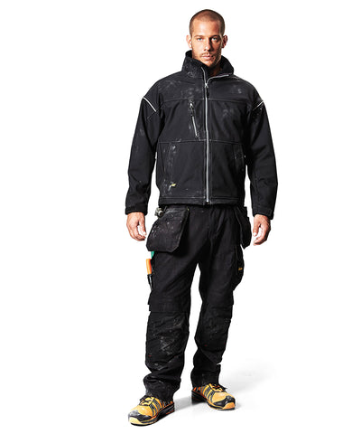 SI034 Snickers Profiling Soft Shell Jacket