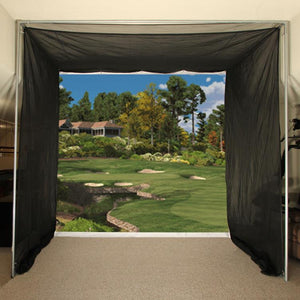 Cimarron 5x10x10 Tour Simulator Golf Net with Complete Frame
