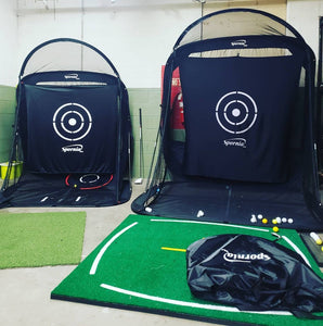 SPG-7 Golf Practice Net™ - Compact Edition with Tri-Turf BUNDLE